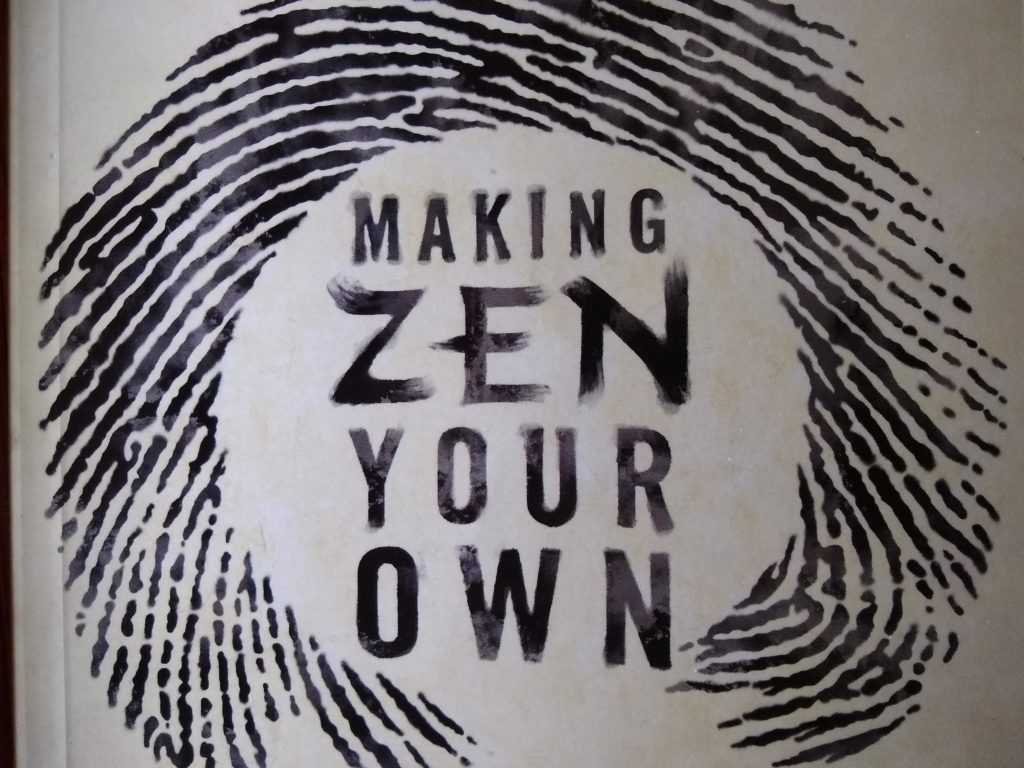 Book: Making Zen your Own