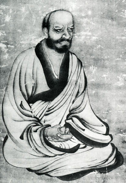 Painting of Linji / Rinzai